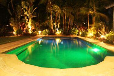 Green Night pool