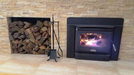 fireplace & wood